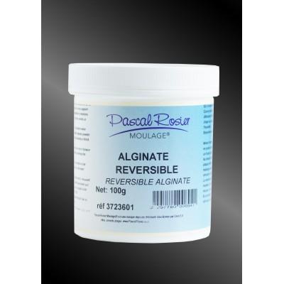 Alginate reversible